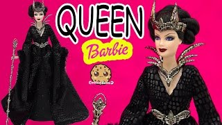 Queen of the Dark Forest Gold Label Collection Collectors Barbie Doll Review Video