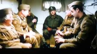A VIDEO SCENE OF THE NEW 2016 DADS ARMY FILM REMAKE BY JORDAN
