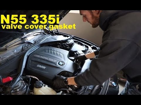How to Replace a N55 Valve Cover Gasket on a BMW F30 335i DIY