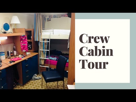 Crew Cabin Tour - Royal Princess Cruise Ship