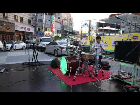 Shades apart - Stranger by the day drum cover - 렛츠드럼 - 정민혁(14)