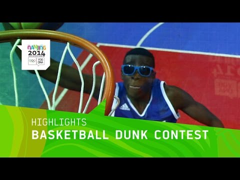 France Wins Men\'s Basketball Dunk Contest Gold - Highlights | Nanjing 2014 Youth Olympic Games