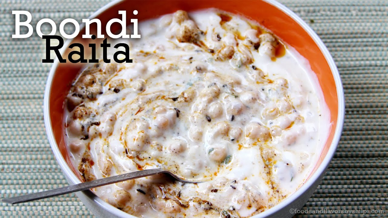 Boondi raita with tadka recipe yogurt dip for biryani pulao veg boondi raita with tadka recipe yogurt dip for biryani pulao veg indian food recipes by shilpi youtube forumfinder