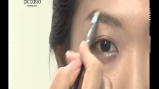 Piccasso Brush 301A Eyebrow  303 Eyebrow Thumbnail