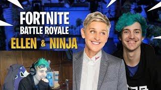 Ninja Reacts To His Ellen Degeneres Show! Ellen & Ninja Duos