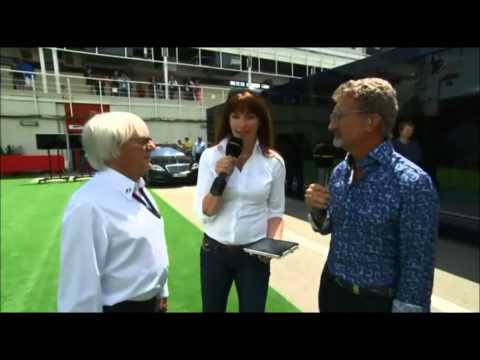 Is Bernie Ecclestone not the biggest troll in F1 at the moment!?