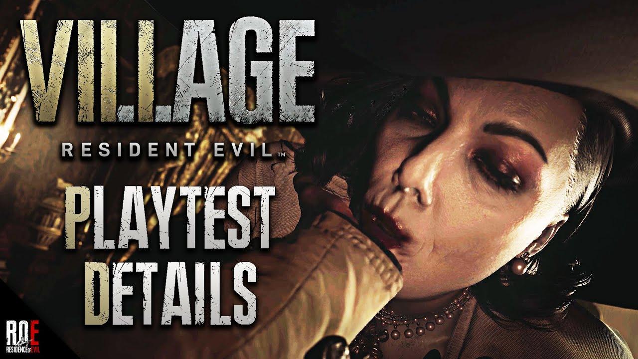 RESIDENT EVIL 8: VILLAGE || NEW Playtest Details | Olga Boss Fight, Merchant, VR Support & MORE!