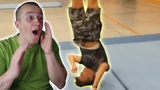 REACTING TO YOUR INSANE FLIPS!!!