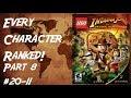LEGO Indiana Jones The Original Adventures - Every Character Ranked PART 8