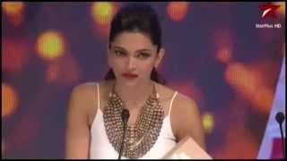 Deepika Padukone  - Winner Best Actress Award of Year 2013