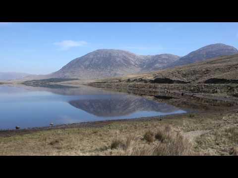 """Connemara, Ireland - """"Quiet Man"""" Bridge, Maam Cross, Twelve Bens, Inagh Valley"""