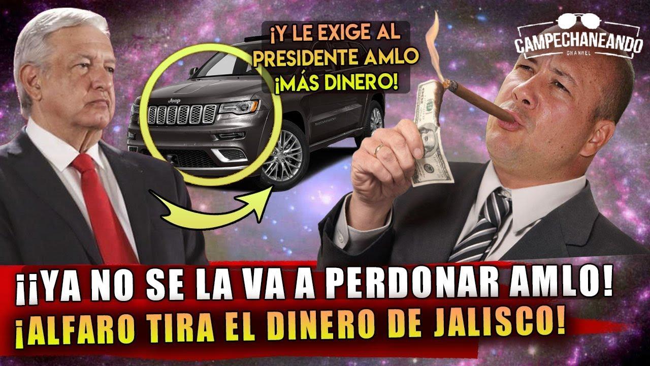 HACE MOMENTOS! GOBERNADOR LE COLMA LA PACIENCIA A AMLO ¡MIREN COMO TIRA EL DINERO!