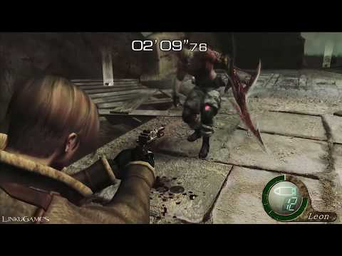 Killing ALL Bosses with the RED 9 | Resident Evil 4 UHD