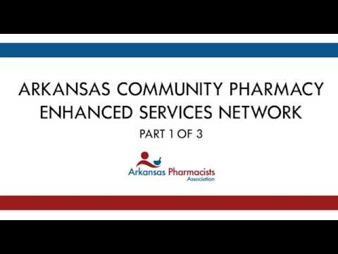 Community Pharmacy Enhanced Services Network Presentation - Part 1