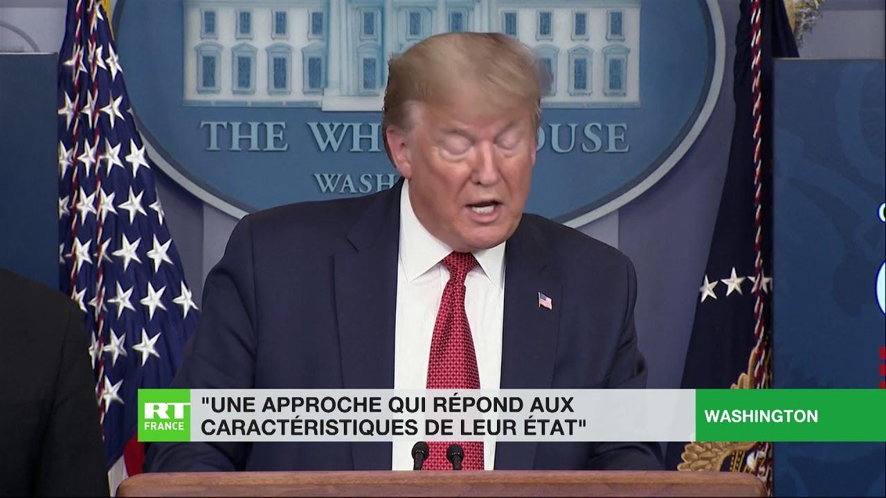 Etats-Unis : Trump appelle à «libérer» des Etats démocrates du confinement