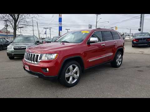 2011 Jeep Grand Cherokee Overland For Sale Cleveland OH S7271T