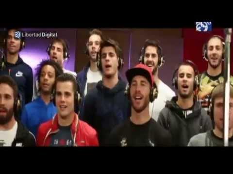 El Madrid presenta la canción de la...