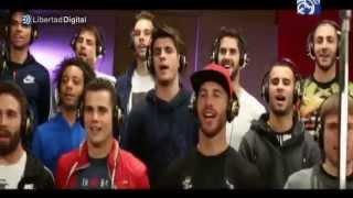 El Madrid presenta la canción de la Décima