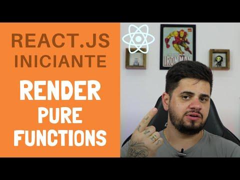 #04 - Tutorial de React.JS iniciante, Render e Função Pura thumbnail
