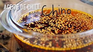 Aceite de chili estilo Chino - Chinese Chili Oil Recipe