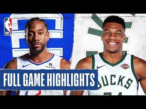 CLIPPERS at BUCKS | FULL GAME HIGHLIGHTS | December 6, 2019
