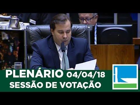 PLENÁRIO - Sessão Deliberativa - 04/04/2018 - 16:31