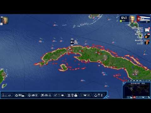 "Geopolitical Simulator 4:  American Empire Series - Cuban Invasion Pt. 2 ""War is Declared!"""