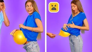 FUNNY FRIENDS PRANKS GONE WRONG! Couple DIY Prank and Girls Hacks