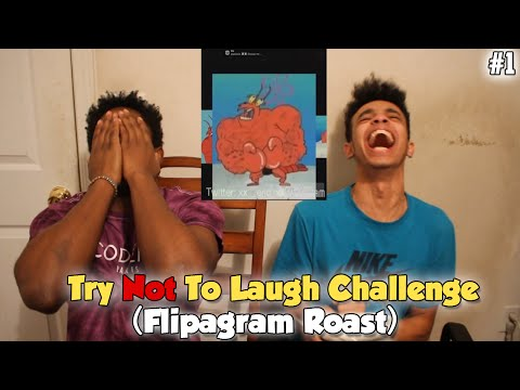 Try Not To Laugh #1 Flipagram Roast (Impossible Challenge)