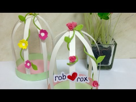 Create Adorable Paper Cages - DIY Crafts - Guidecentral
