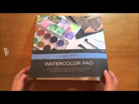 Scrapbook Haul -  Hobby Lobby Watercolor Paper & Doilies