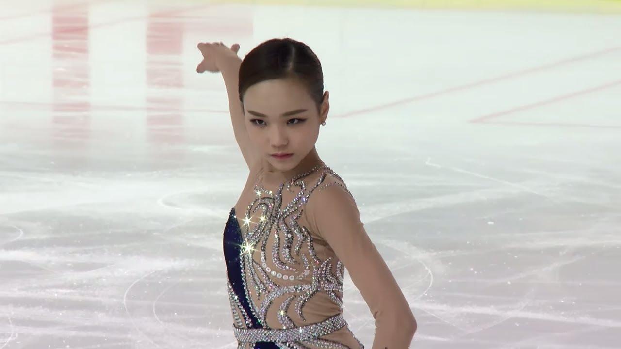 Eunsoo LIM KOR - Salzburg - Ladies Free skating - ISU JGP 2017 ...