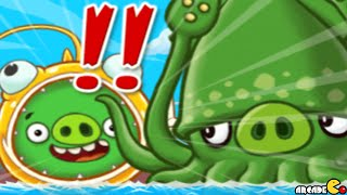 Angry Birds Fight - ALL Monster Pig Return SUPER SQUID PIG BATTLE! iOS/ Android