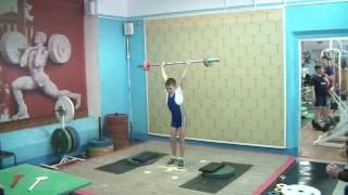 Шумихин Артур, 10 лет, вк 34 Толчок 18 кг