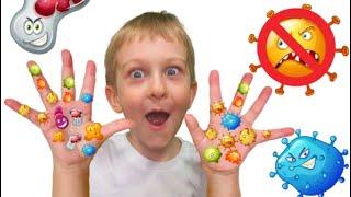 Tawaki kids and story wash your hands!