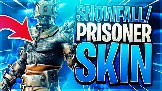 NEW Prisoner Snowfall Fortnite Skin + Style Stages Upgrades - Week 9 Challenge reward