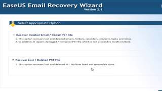 How to recover lost outlook PST files
