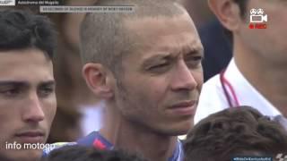 Upacara Penghormatan terhadap Nicky Hayden 69 At Mugello, Italy