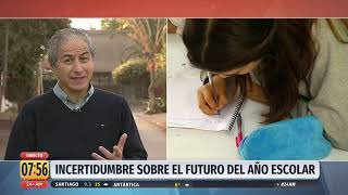 """Mario Aguilar por retorno a clases el 27 de abril: """"No vamos a volver"""""""