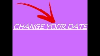 HOW TO CHANGE YOUR DATE/BIRTH ON YOUR ROBLOX ACC!!