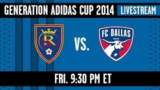 LIVE STREAM: Real Salt Lake vs. FC Dallas | Generation adidas Cup U-17