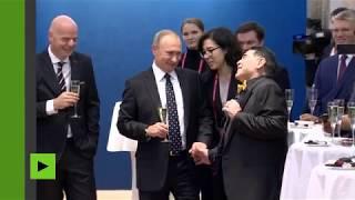Maradona : «Tout le monde est venu pour faire une photo avec Poutine»