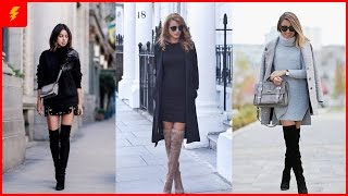 How to Wear Over The Knee Boots for This Winter