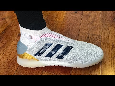 buy cheapest ever popular Adidas Predator 19+ TF Indoor - Unboxing, Review & On Feet ...