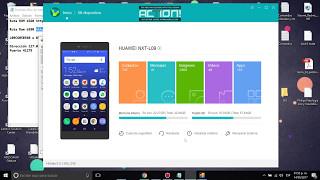Huawei Mate 8 (NXT-L09) Actualización Android 7 Rom B580 o B560