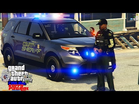 GTA 5 Live Multiplayer Police Roleplay On The KUFFS FiveM Server #353 Wild Night In The County