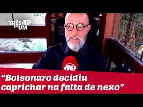 #JosiasDeSouza: Bolsonaro virou a página da corrupção, só que para trás