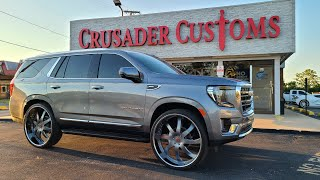 FIRST IN THE WORLD 2021 GMC YUKON ON 30INCH FORGIATOS