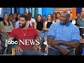 Shaq and Kyrie Irving dish on 'Uncle Drew' live on 'GMA'