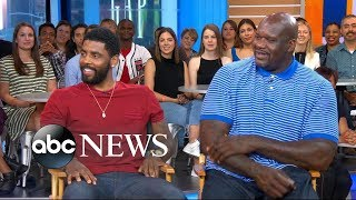 Shaq and Kyrie Irving dish on